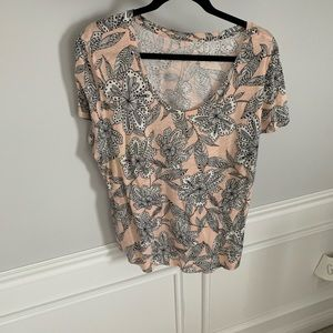 Perfect condition! Loft Short Sleeve Top; Size XL